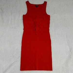 Express red Bandage dress